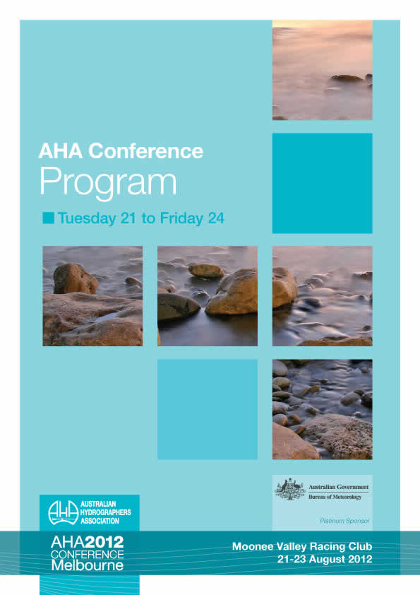 Cover of AHA2012 Conference program