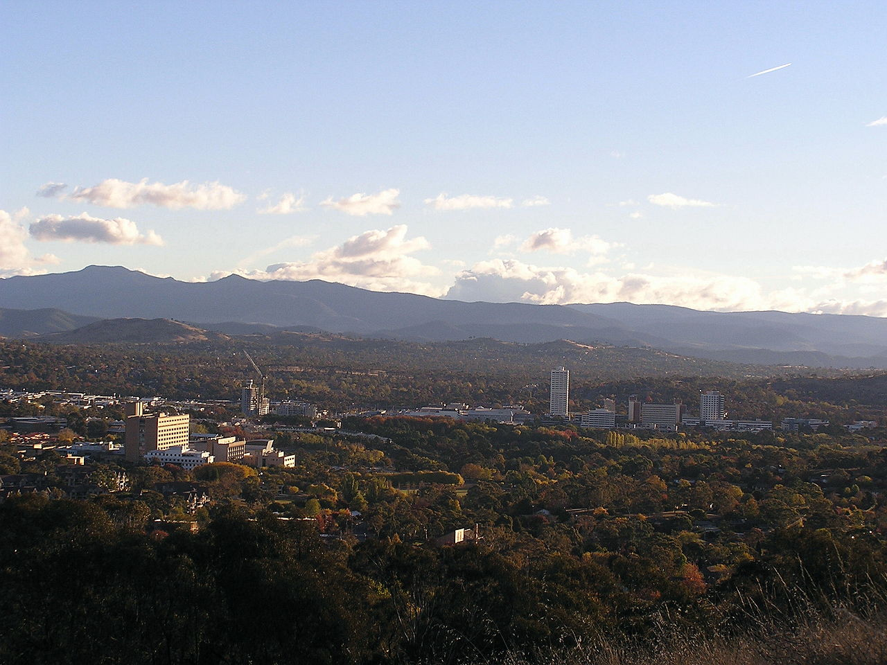 Woden Valley and town centre