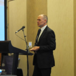 Dr Rob Argent, BoM opens conference
