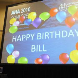Former President Bill Steen's birthday