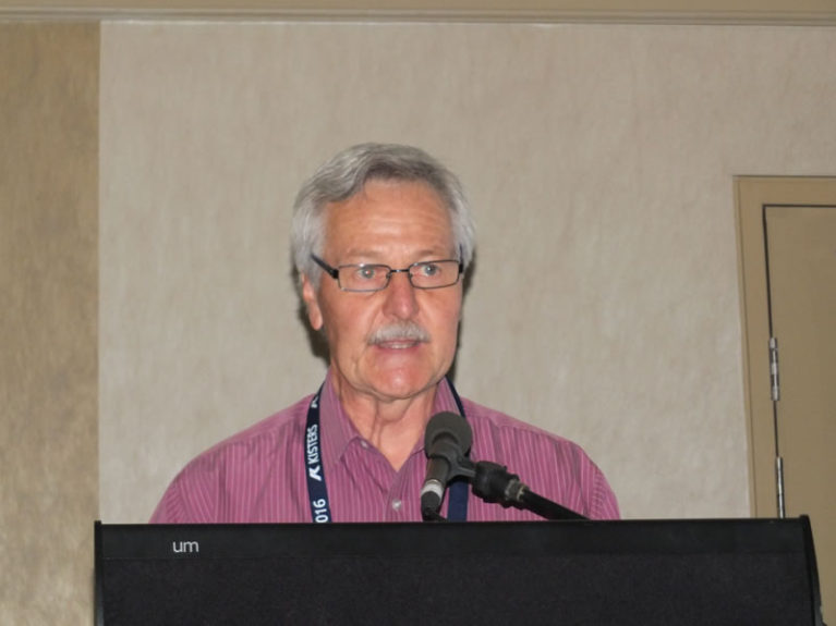 Tony Polchleb introduces Alex Miller award