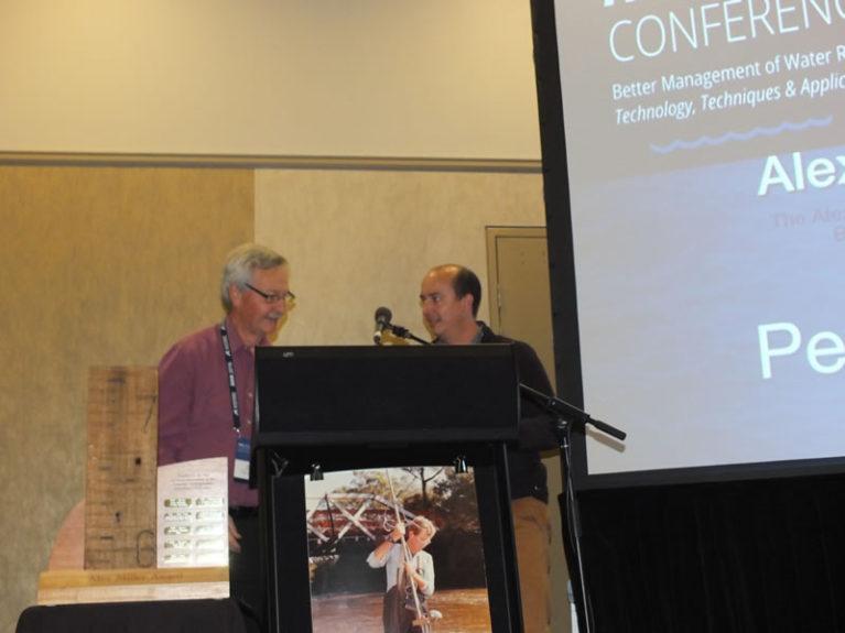 Peter Waugh wins Alex Miller Award
