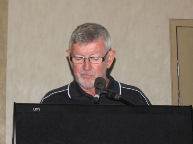 President Bill Barratt closes conference