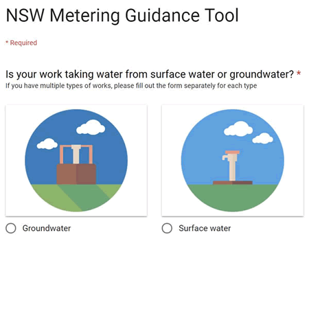 NSW Metering Guidance Tool