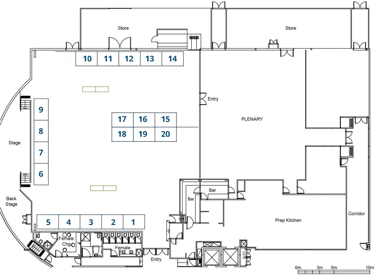 AHA 2018 Conference Expo Floor Plan