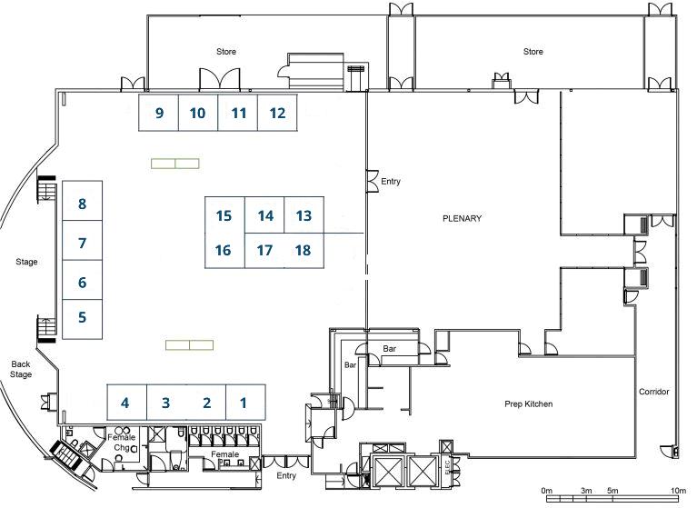 AHA2018 exhibition floor plan