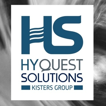 HyQuest Solutions and AHA logos